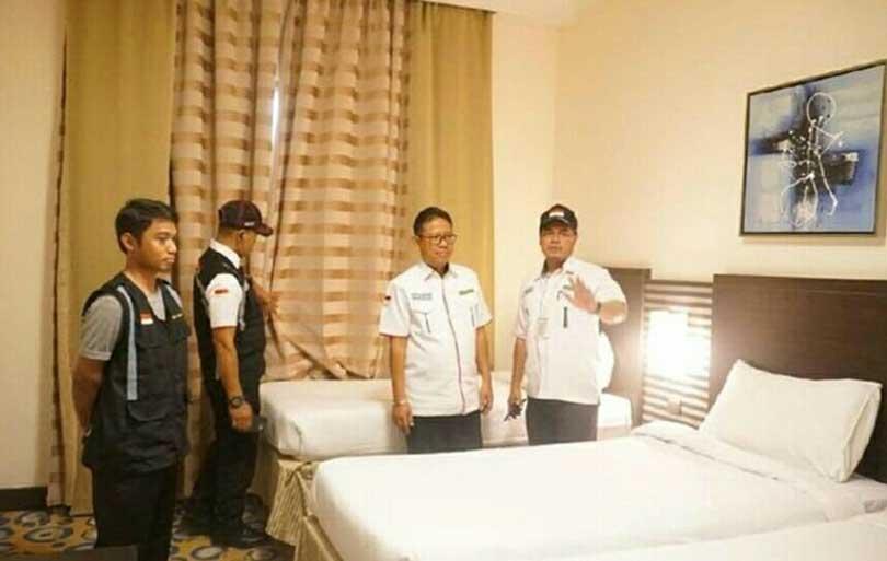 Penyiapan Akomodasi Jemaah Haji Indonesia di Mekah Hampir Rampung