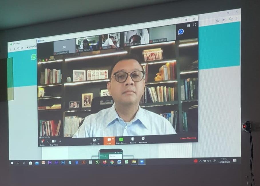 tom mc ifle Kru Tazkiyah Tiga Hari Coaching Virtual Bersama Tom MC Ifle