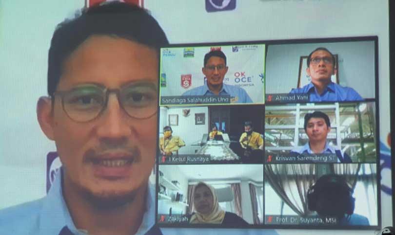Sandiaga Perkenalkan Innofast, Tazkiyah Sharing Kisah Tembus SNI Award