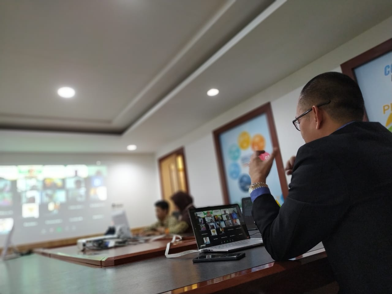 WhatsApp Image 2020 06 16 at 11.31.33 Launching Raksa Nugraha Award 2020, Tazkiyah Beri Testimoni Bersama Tiga BUMN