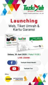 tiket umrah launching Siang Live Perlindungan Konsumen di iNews, Malam Ini Tazkiyah Launching Tiket Umrah