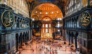 images 4 Mendamba Salat di Hagia Sophia, Menghadap Dua Kiblat
