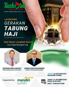 WhatsApp Image 2020 10 16 at 15.41.10 Gandeng BSM, Tazkiyah Tour Launching Gerakan Tabung Haji