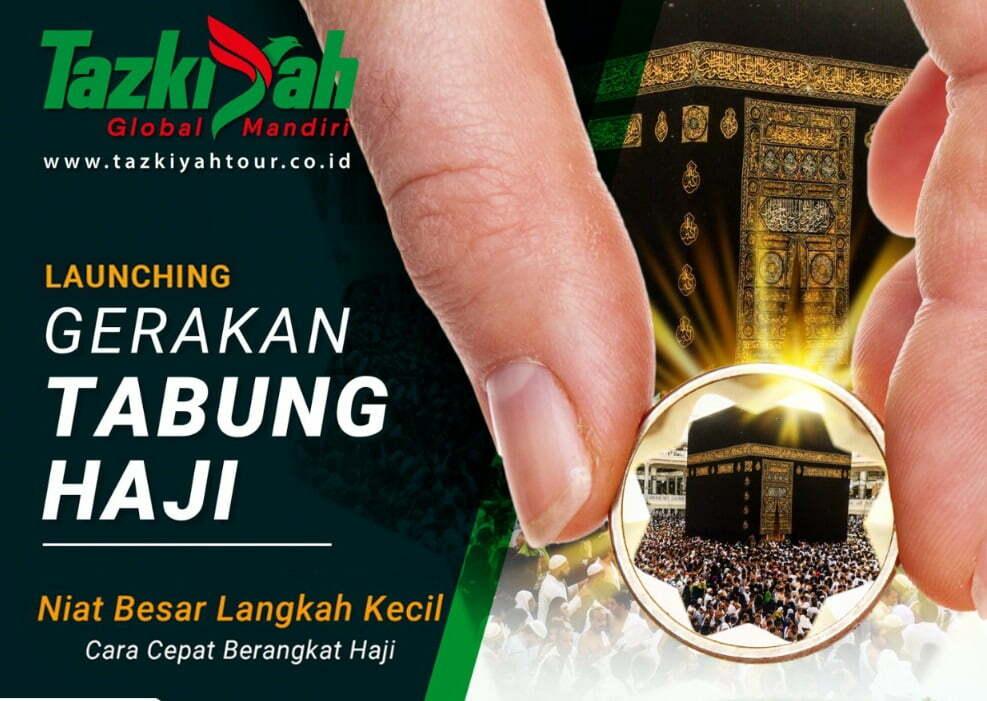 tazkiyah bsm lagi Gandeng BSM, Tazkiyah Tour Launching Gerakan Tabung Haji
